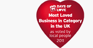 Most Loved Bolton Business Logo